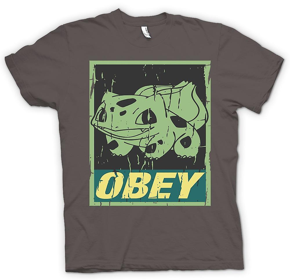 Womens T-shirt-Bulbasaur lyda - Cool Pokemon inspirerad