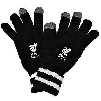 Liverpool FC officiel adulte unisexe tricoté gants manchette Stripe