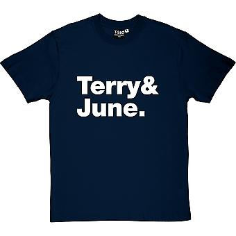 Terry and June Line-Up Men's T-Shirt