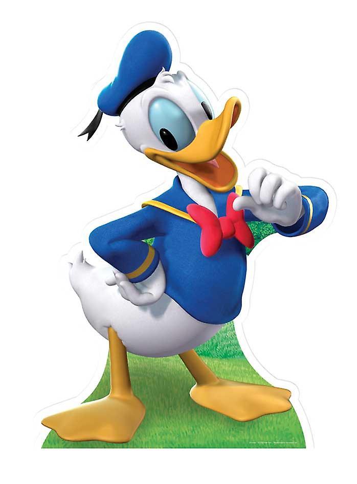 Donald Duck (Disney) - Levensgrote Kartonnen Uitsnede / Standee