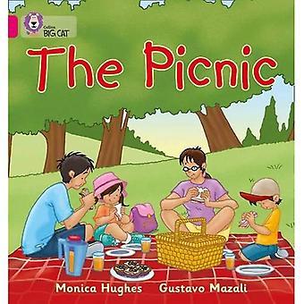 The Picnic: Band 01a/Pink A (Collins Big Cat)