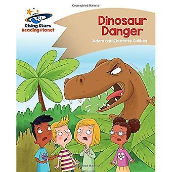 Lecture de planète - dinosaure Danger - or