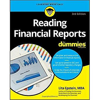 Lesen Sie Finanzberichte für Dummies
