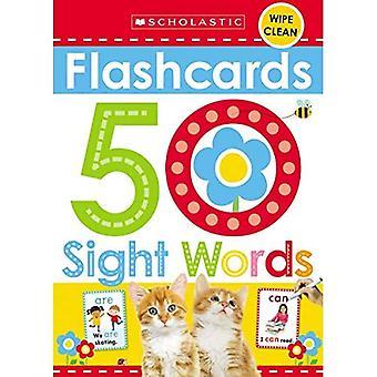 Karteikarten - 50 Sight Words (scholastischen frühen Lerner) (scholastischen frühen Lerner)