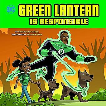 Green Lantern ist verantwortlich (DC Superhelden Charakter Bildung)