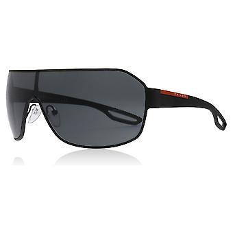 Prada Sport PS52QS DG01A1 Black PS52QS Visor Sunglasses Lens Category 3 Size 37mm