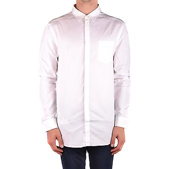 Balmain White Cotton Shirt