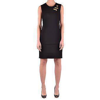 Love Moschino Black Viscose Dress