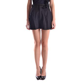 Marc By Marc Jacobs Black Linen Shorts