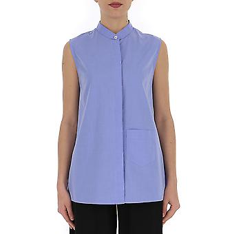Semi-couture Light Blue Cotton Shirt