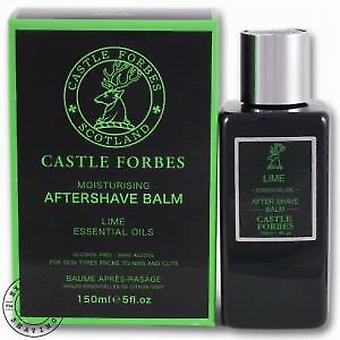 Castle Forbes Lime Essential Oil Aftershave Balm 150ml