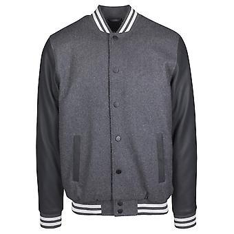 Urban Classics Men's Collegejacket Old-School College Jacket 2.0