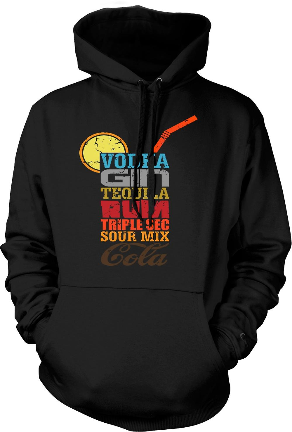 Mens Hoodie - Long Island Iced Tea - Cool