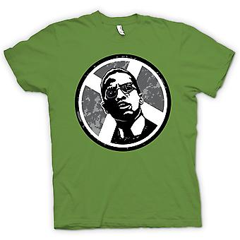 Womens T-shirt - Malcolm X Pop Art