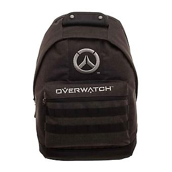 Overwatch Backpack Bag Logo new Official PS4 Xbox Gamer Black