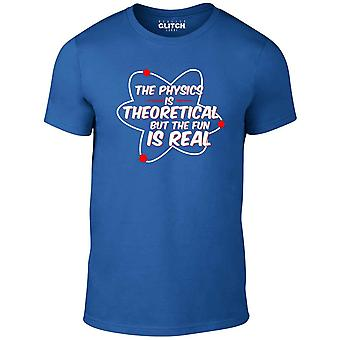 Men's physics is real t-shirt