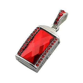 Metal u disk flash drive-8g red