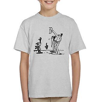 Krazy Kat Walter Cephus Ostrich Kid's T-Shirt