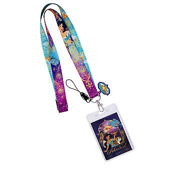 Disney Aladdin Jasmine longe multicolore