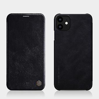 Protection Case Faux Leather Flipcase Cover pour Apple iPhone 11 6.1 Pouces Black Case