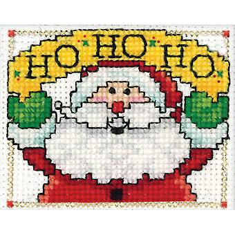 Ho Ho Ho Ornament Counted Cross Stitch Kit 2