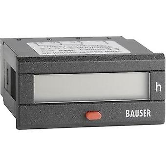Bauser BZ/BZ 12-24V/DC Digital counter - Twin technology Assembly dimensions 45 x 22 mm