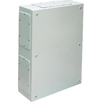 Build-in casing, Wall-mount enclosure 200 x 150 x 95 Steel plate Grey