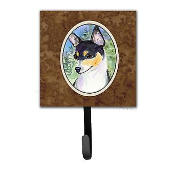 Fox Terrier Leash Holder or Key Hook