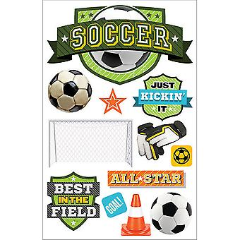 Paper House 3D Stickers-Soccer Champ STDM260E