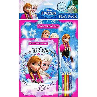 Disney Frozen Colouring Pad Play Pack FNPPK