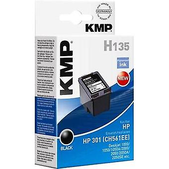 KMP Ink replaced HP 301 Compatible Black H135 1719,4801