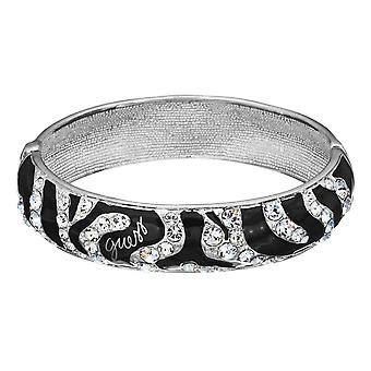 Guess ladies bracelet Bangle steel Silver Zyrkonia UBB71208