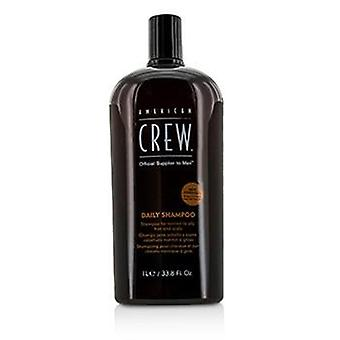 American Crew Men Daily Shampoo (For Normal to Oily Hair and Scalp) - 1000ml/33.8oz