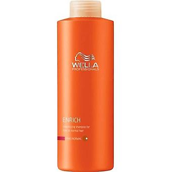 Wella Enrich Moisture Conditioner for Fine Hair 1000ml