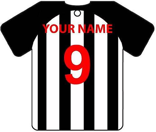 Personalised Dunfermline Athletic Football Shirt Car Air Freshener