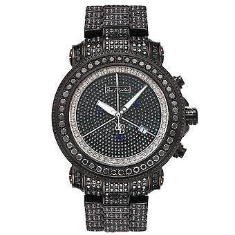 Joe Rodeo diamond men's watch - JUNIOR black 27 ctw