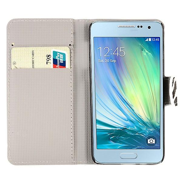 Pocket wallet motif 9 for Samsung Galaxy A3 A300 A300F
