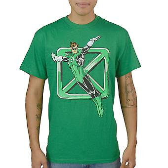 DC Comics Green Lantern Men's Green T-Shirt