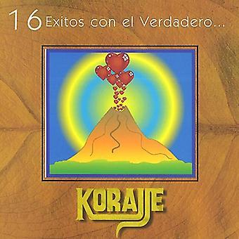 Grupo Korajje - 16 Exitos Con El Verdadero Korajje [CD] USA import
