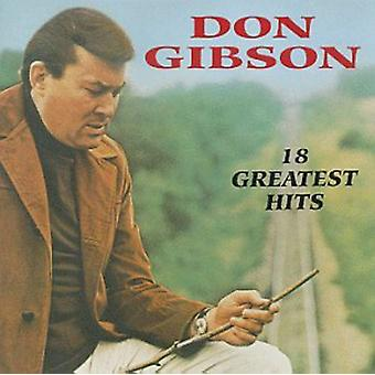 Don Gibson - 18 Greatest Hits [CD] USA import