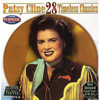 Patsy Cline - 28 zeitlose Klassiker [CD] USA import