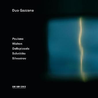 Duo Gazzana - Schnittke/Poulenc/Silvestrov/Walton/Dallap [CD] USA import
