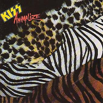 Kiss - Animalize [CD] USA import