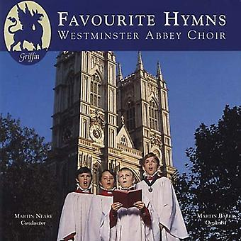 Westminster Abbey kor - favorit salmer [CD] USA importerer