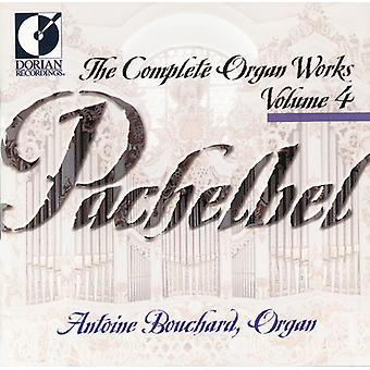 J. Pachelbel - Pachelbel: Complete Organ Works, Vol. 4 [CD] USA import