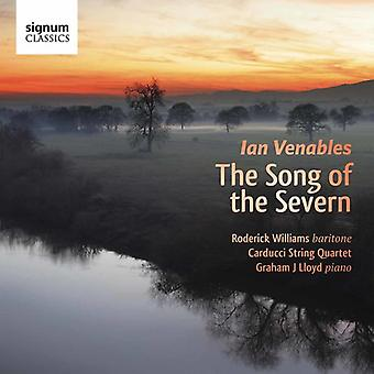 Venables / Williams / importación cuarteto Carducci - canción de los E.e.u.u. de Severn [CD]