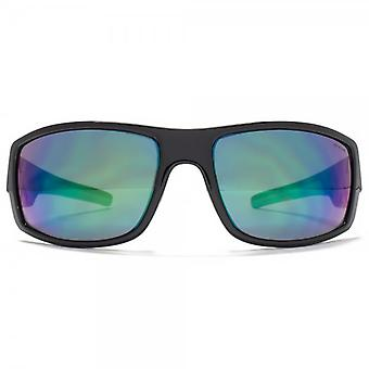Animal Charge Square Wrap Sunglasses In Black