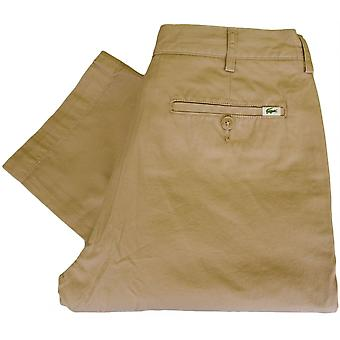Lacoste Hh8235 Fit Regular Beige Chino