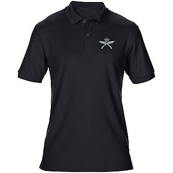 Royal Gurkha Rifles Embroidered Logo - Official British Army Mens Polo Shirt