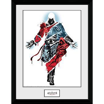 Assassins Creed sammanställning 2 inramade Collector Print
